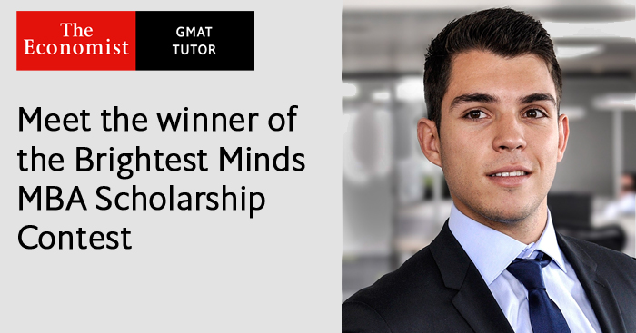Brightest Minds MBA Scholarship Contest winner Victor Cannilla